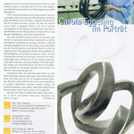 Monumentalität: Carola Eggeling im Porträt - IHK Magazin - 11.2009