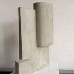 Turm II - 2011 - Steinguss - 42 (h) x 28 (b) x 12 (t) cm - Ansicht 2