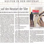 Rückbesinnung auf den Neustart der 50er - Badische Zeitung -  13.02.2007