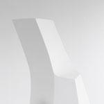 Zweiklang - 2010 - Holz / Gips -  180 (h) x 160 (b) x 110 (t) cm - Ausschnitt 1