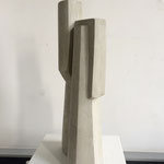 Turm I - 2011 - Steinguss - 47 (h) x 20 (b) x 15 (t) cm - Ansicht 2