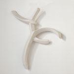 Wandobjekt - 2008 - Gips - 54x46x10 cm