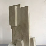 Turm II - 2011 - Steinguss - 42 (h) x 28 (b) x 12 (t) cm - Ansicht 1
