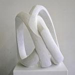 ohne Titel - 2012 - Gips - 37 (h) x 30 (b) x 27 (t) cm
