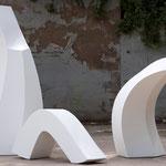 Dreiklang - 2010 - Holz / Gips - 180x200x300 cm