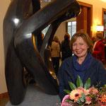 Einweihung der Bronzeskulptur im Rathausfoyer der Stadt Neuss - 2010