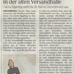 Künstlerin zeigt Skulpturen in der alte Versandhalle - Neuss Grevenbroicher Zeitung - 5.5.2014