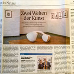 Zwei Welten der Kunst - Neuss Grevenbroicher Zeitung - 2017