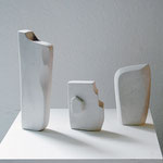 Trio - 2008 - Gips 3-teilig - 22 (h) x 40 (b) x 8 (t)  cm