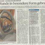 Das Runde in besondere Form gebracht - Neuss Grevenbroicher Zeitung - 2014