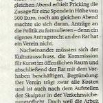 Skulpturenpfad: Nordstadtinitative legt sich fest - Neuss Grevenbroicher Zeitung - 2018
