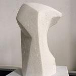 ohne Titel IX - 2011 - Steinguss - 25x13x8 cm