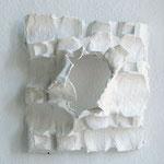 Wandobjekt -2012 - Gips / Karton - 50x50x15 cm