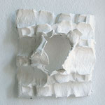 Wandobjekt -2012 - Gips / Karton - 50 (h) x 50 (b) x 15 (t) cm