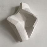 Wandobjekt - 08/16 - Gips - 41 (h) x 30 (b) x 14 (t) cm