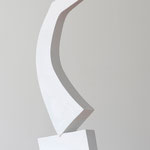 Auf und Davon - 2011 - Holz / Gips - 48 (h) x 27 (b) x 9 (t) cm