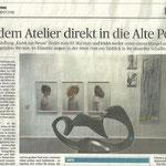 Aus dem Atelier direkt in die Alte Post - Neuss Grevenbroicher Zeitung - 2016