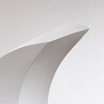 Zweiklang - 2010 - Holz / Gips -  180 (h) x 160 (b) x 110 (t) cm  - Ausschnitt 2