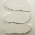 Wandobjekt - 2013 - Holz / Gips - 3 teilig - 60x45x6 cm
