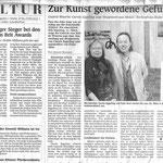 Zur Kunst gewordene Gefühle - Mittelbadische Presse - 16.02.2007