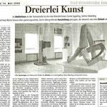 Dreierlei Kunst - Neuss Grevenbroicher Zeitung - 24.05.2008