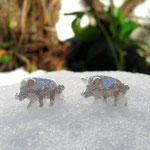 Wildschwein Manschettenknöpfe