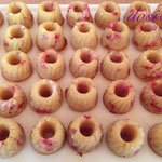 Minigugl Amaretto-Erdbeer