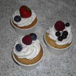 Cup Cake mit Frucht