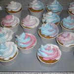 Cup Cake dreifarbig