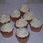 Cup Cake mit Perlen