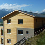 Ost Fassade Holzschalung
