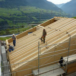 Montage Dach