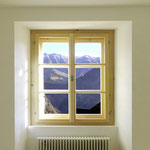 Sanierungsfenster mit Sprossen