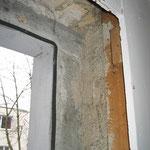 Ausbau vom alte Fenster