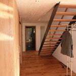 Treppe zur Galerie DG.