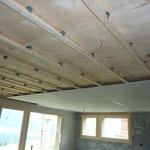 Installation Decke EG
