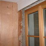 Einbau neues Fenster