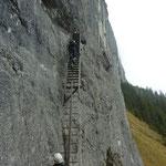 Pinut Klettersteig Flims.