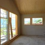 Innenausbau Gipsplatten, Fenstermontage.
