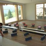 Innenausbau Holzboden Parkett, Sommer 2015.