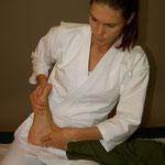 Rotation Fußgelenk - dadurch Bewegung im ganzen Körper