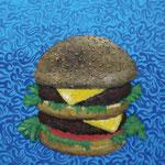 Hamburger 2012 キャンバスにアクリル絵具 333x190