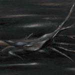 棄(き)2011 キャンバスにアクリル絵具 652x803