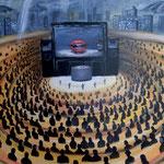 真実の声 2015 キャンバスにアクリル絵具 652x803