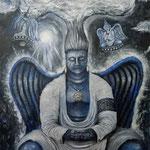 平和の神 2014 キャンバスにアクリル絵具 1167x910