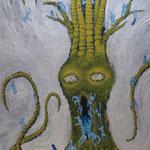 樹(き)2011 パネルにアクリル絵具 1030x728