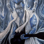 Blue Songs 1 2014 キャンバスにアクリル絵具 1167x910