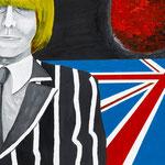CROSS ROADS_SWINGING LONDON 2010 紙にアクリル絵具 364x515