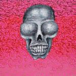 SKULL 2012 キャンバスにアクリル絵具 410x242