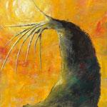 起(き)2011 キャンバスにアクリル絵具 1167x910